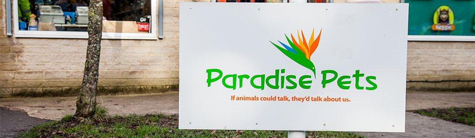 Paradise Pets Sign